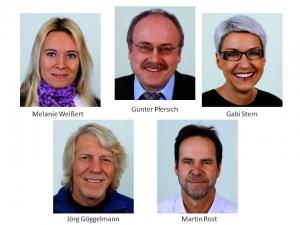 Freie Wähler gewählte Stadträte Mai 2014